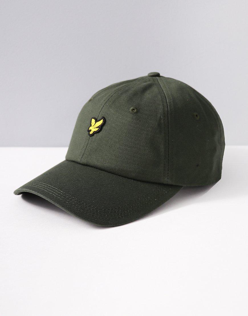Lyle   Scott Baseball Cap Leaf Green 664943789540
