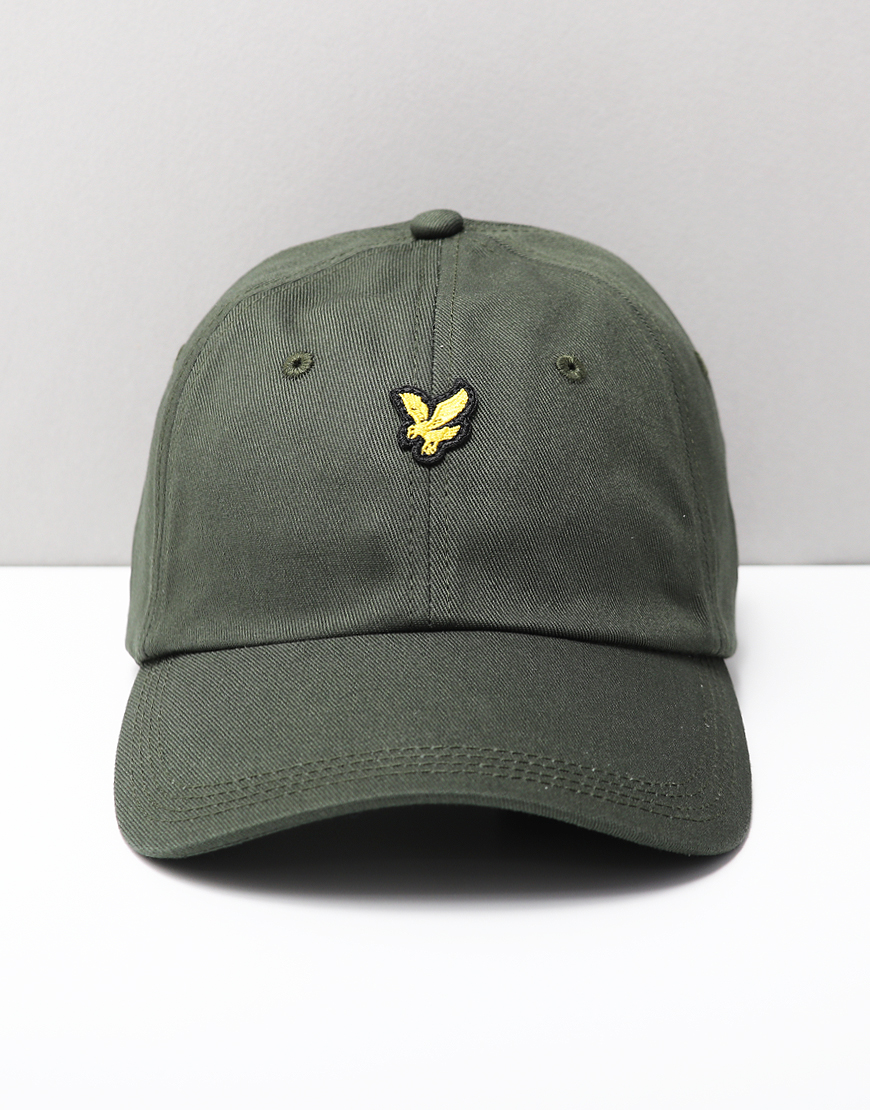 Lyle & Scott Baseball Cap Leaf Green