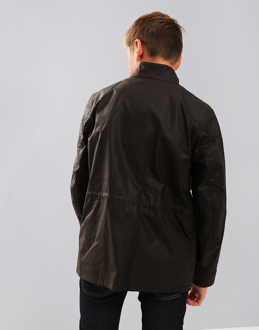 Belstaff Kids Roadmaster Jacket Faded Olive