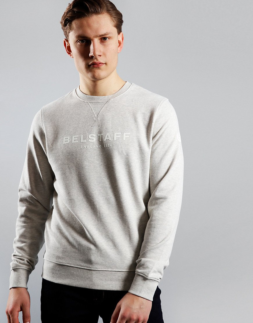 Belstaff 1924 Crew Sweat Heather Grey