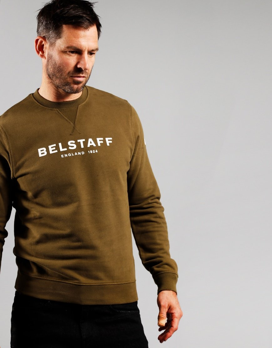 Belstaff 1924 Crew Neck Sweat Saliva / Off White