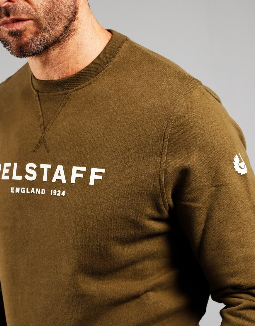 Belstaff 1924 Crew Neck Sweat Saliva / Off White