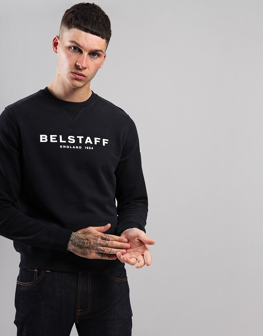 Belstaff 1924 Crew Neck Sweat Black / White