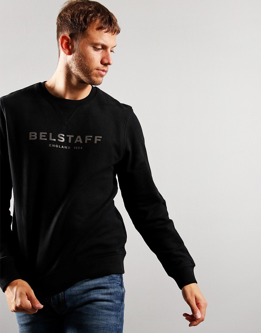 Belstaff 1924 Sweat Black/Dark Charcoal
