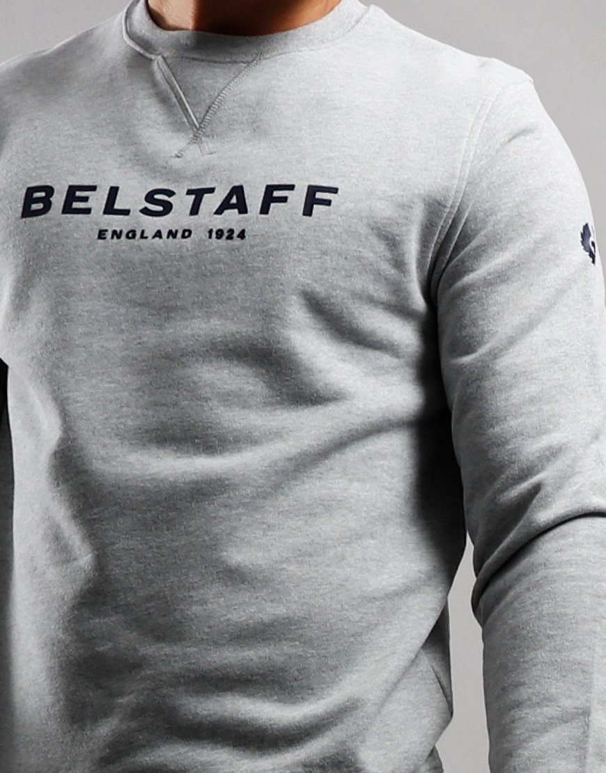 Belstaff 1924 Crew Neck Sweat Melange / Dark Navy