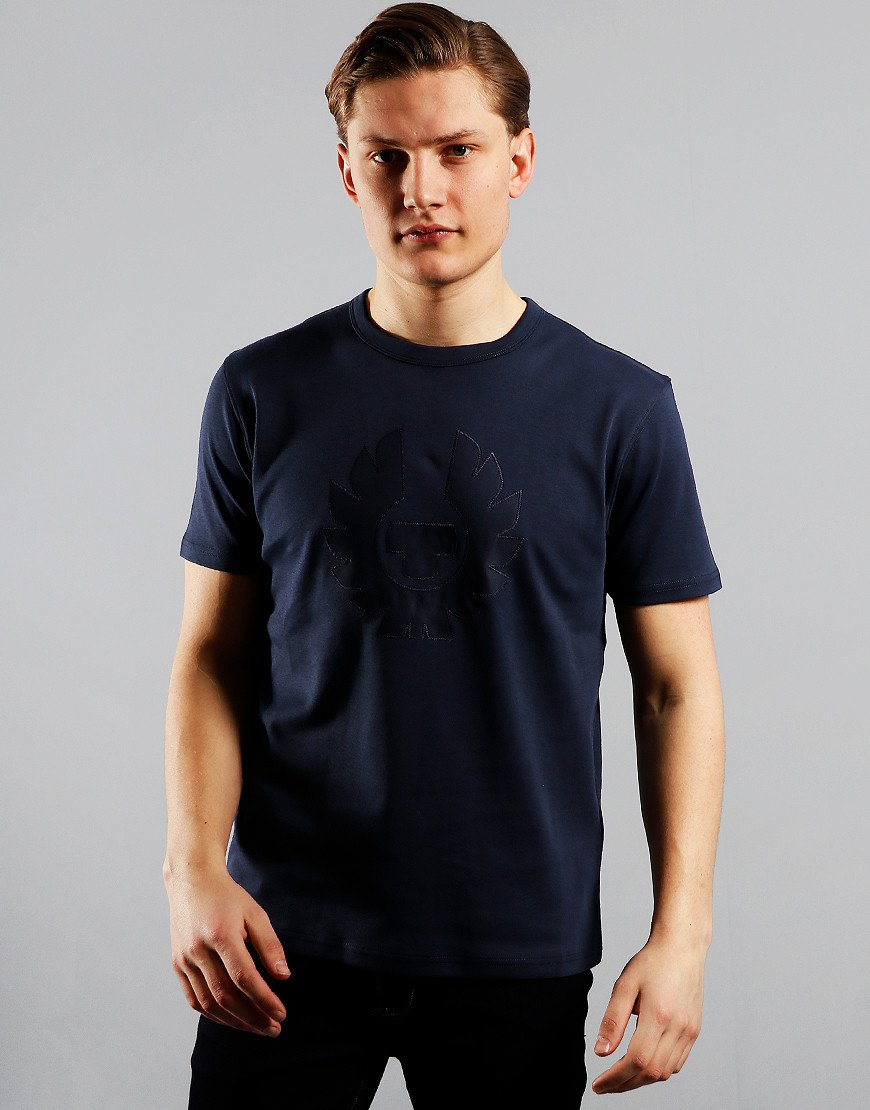 Belstaff Appliqué Phoenix T-Shirt Dark Ink