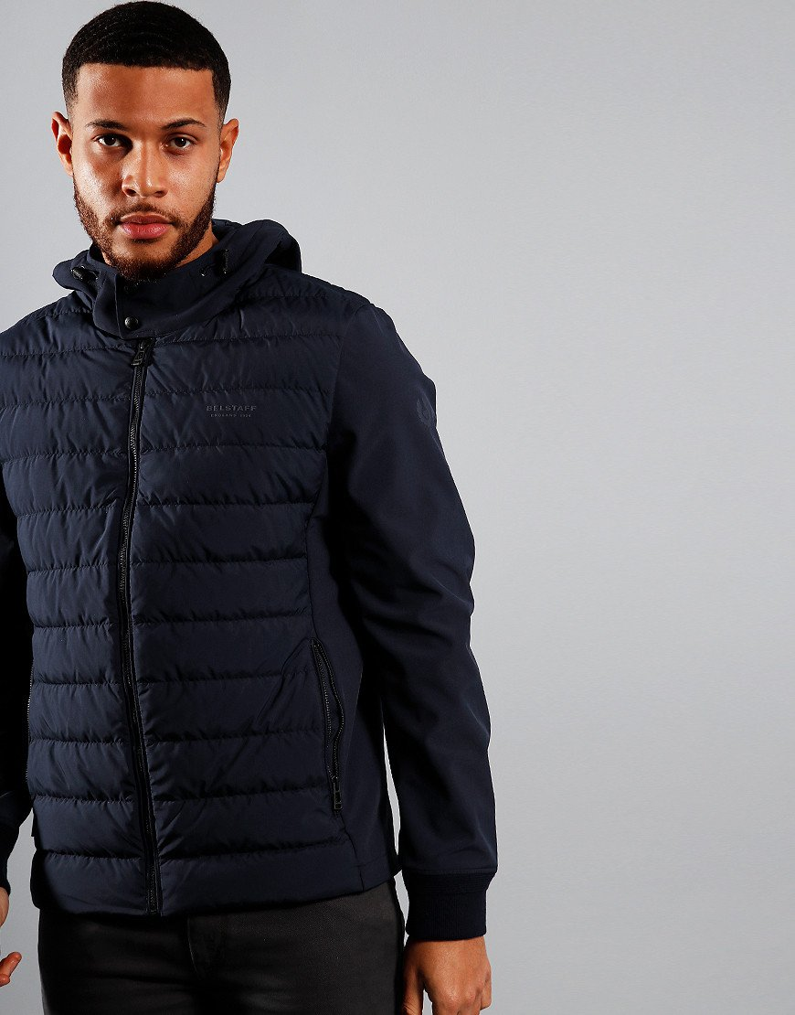Belstaff Nevis Quilted Jacket Dark Navy