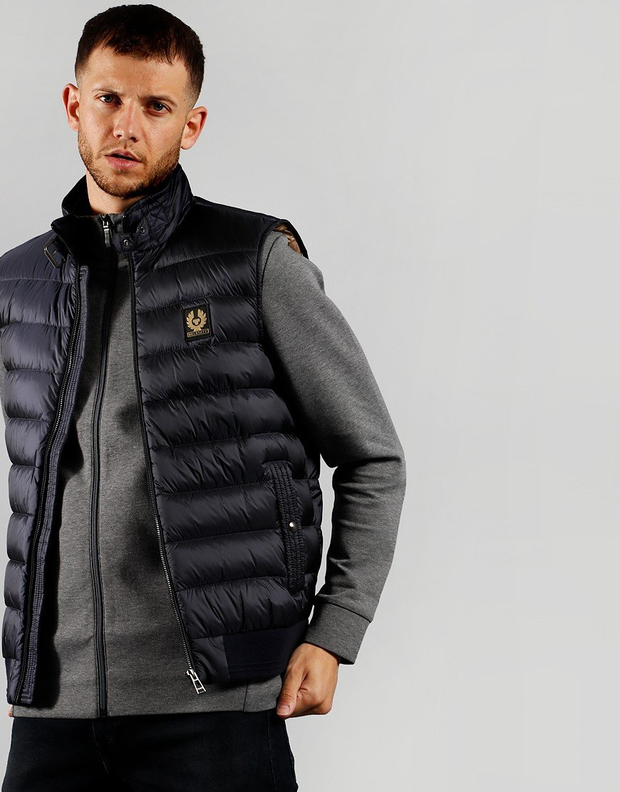 Belstaff Circuit Gilet  Dark Ink