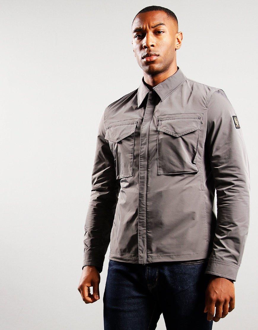 Belstaff Command Shirt Granite