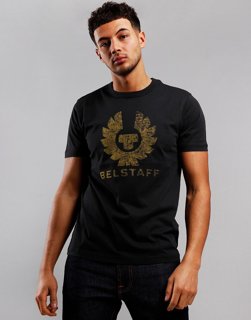 Belstaff Coteland 2.0 Destressed T-Shirt Black