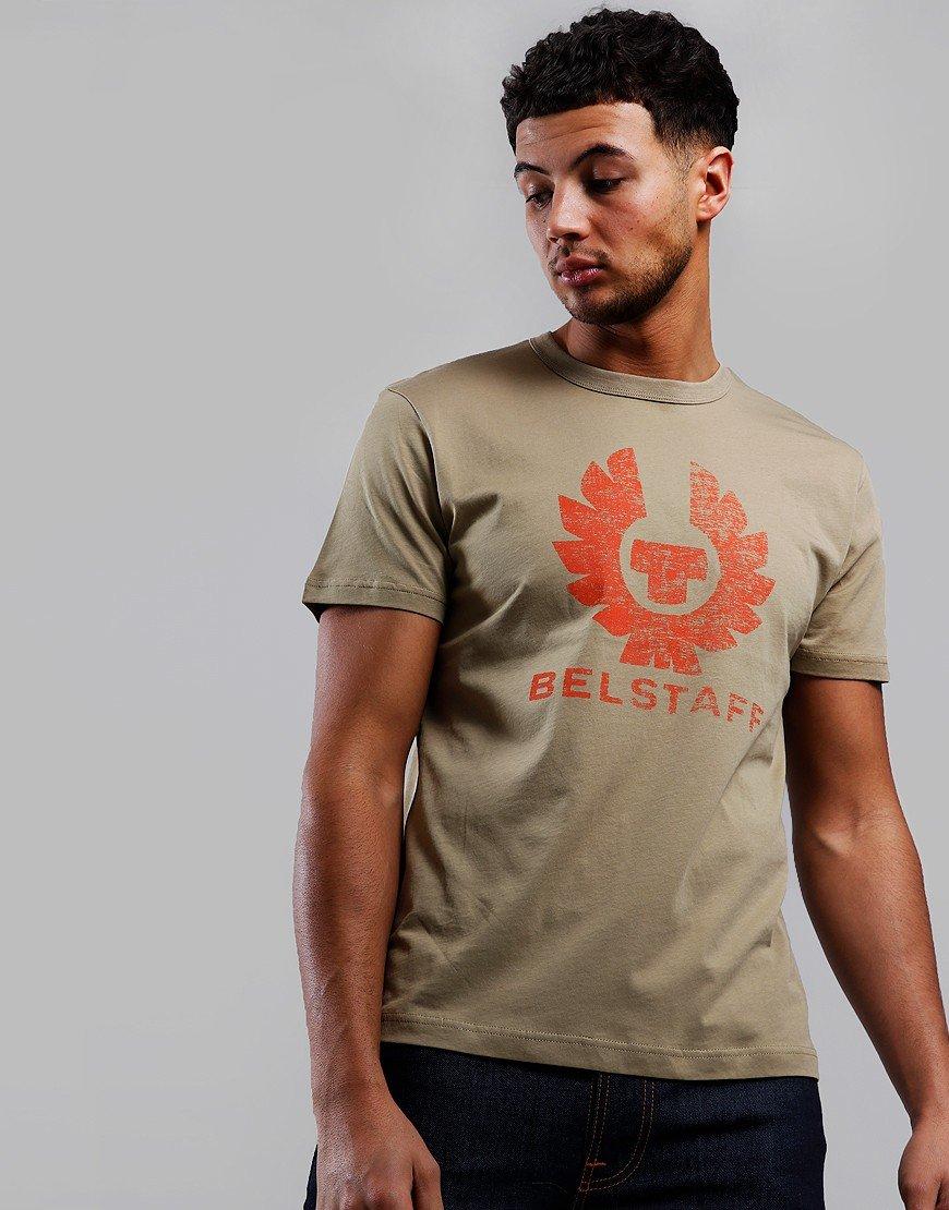 Belstaff Coteland 2.0 Destressed T-Shirt Fallow