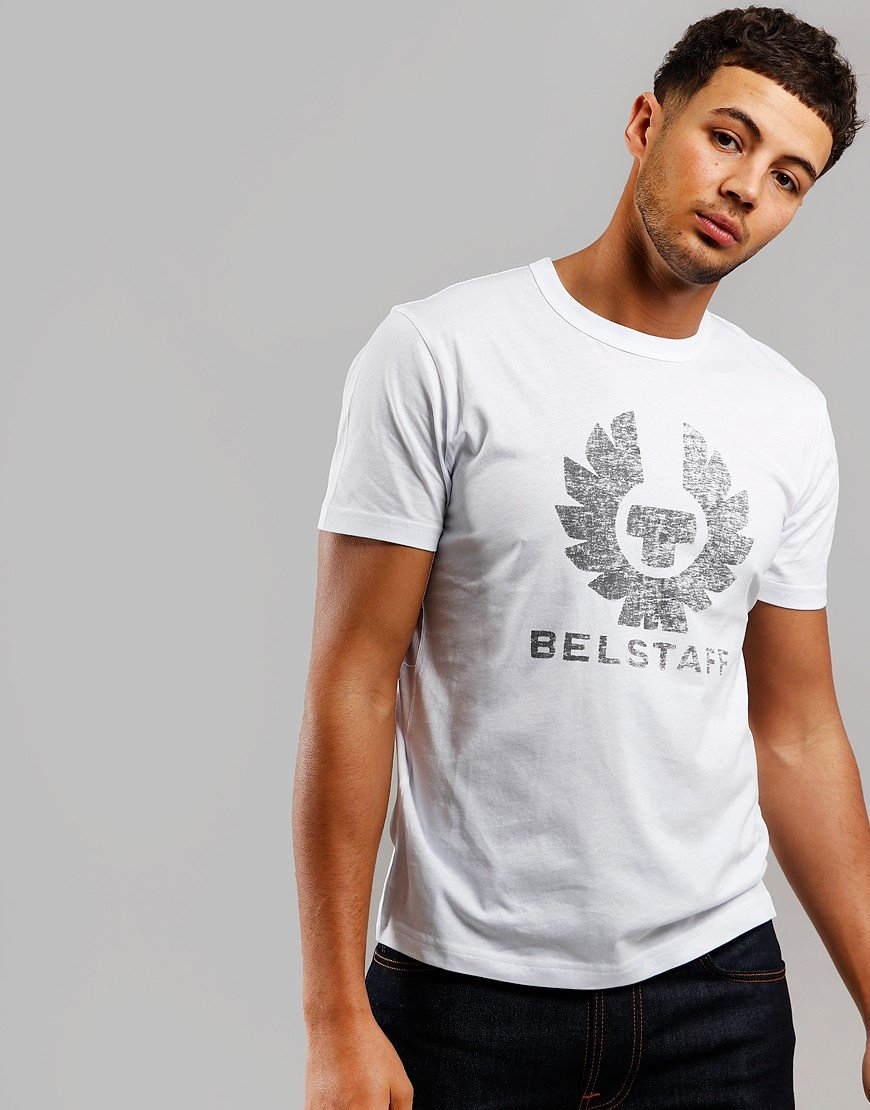 Belstaff Coteland 2.0 Destressed T-Shirt White