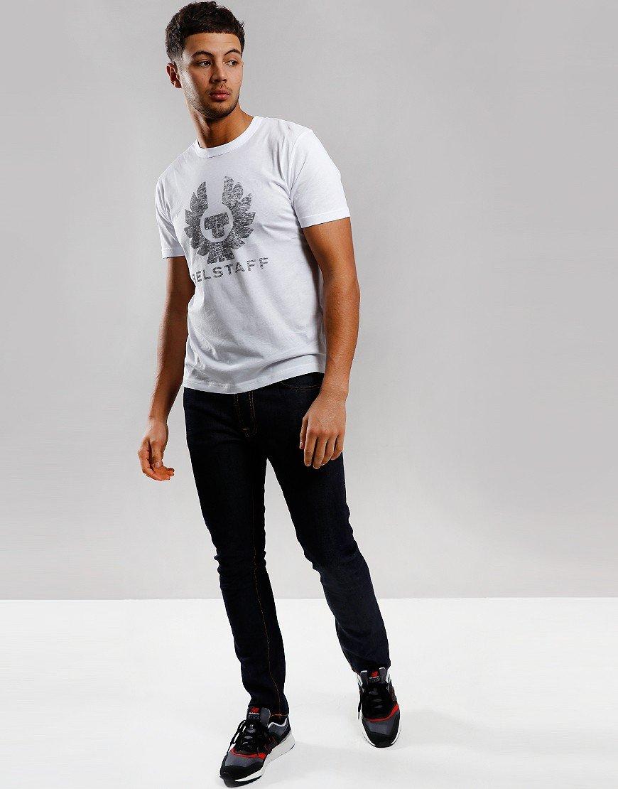 Belstaff Coteland 2.0 Destressed T-Shirt White