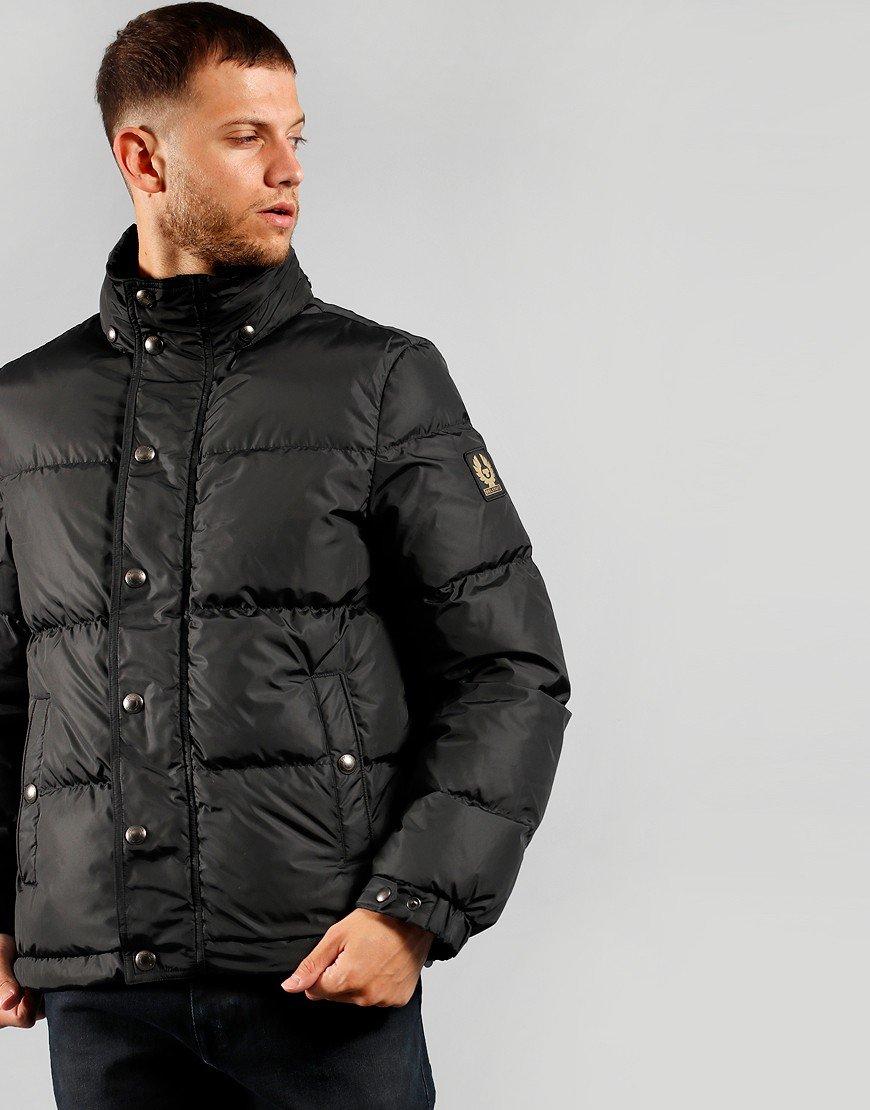 Belstaff Dome Jacket Solid Black