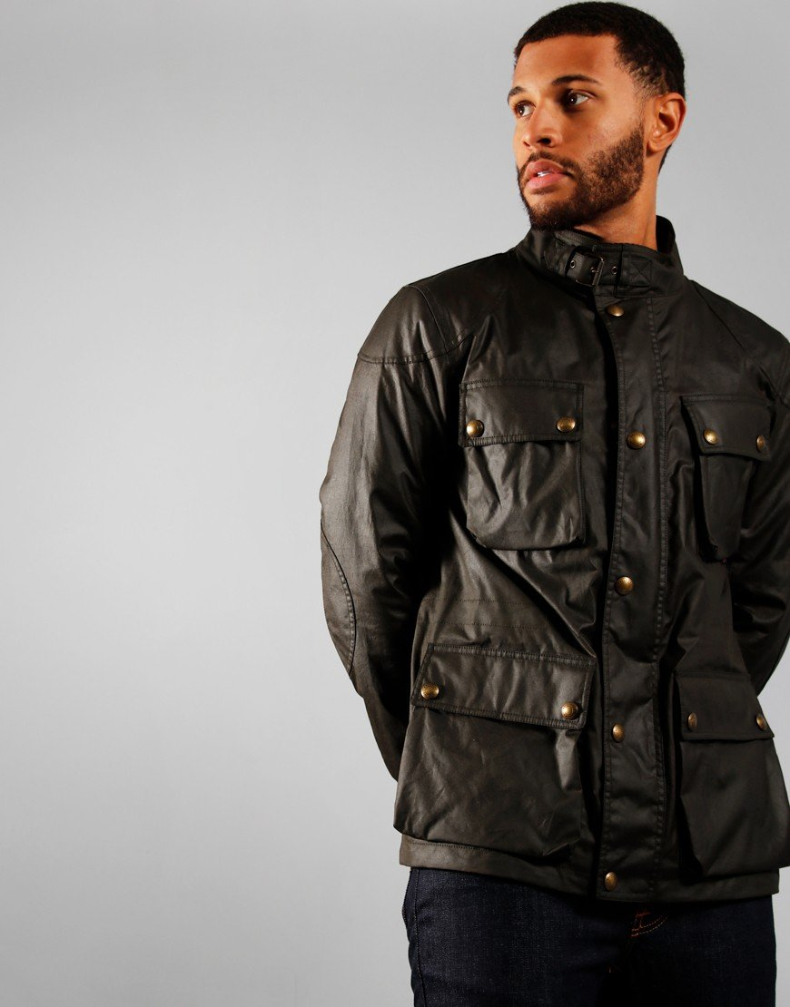 Belstaff Fieldmaster Jacket  Faded Olive