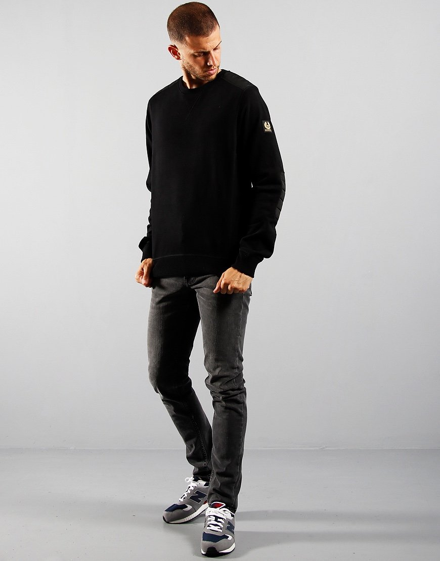 Belstaff Jarvis Sweatshirt Black