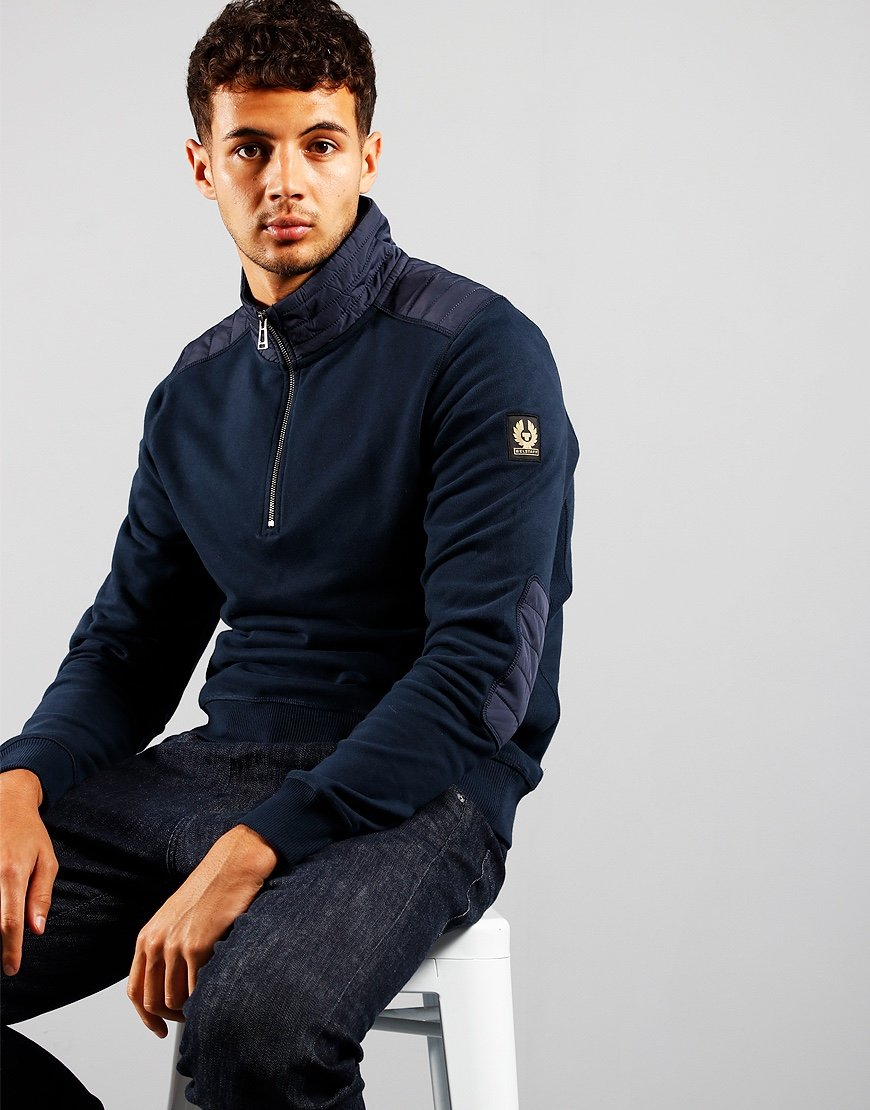 Belstaff Jaxon Sweat Navy