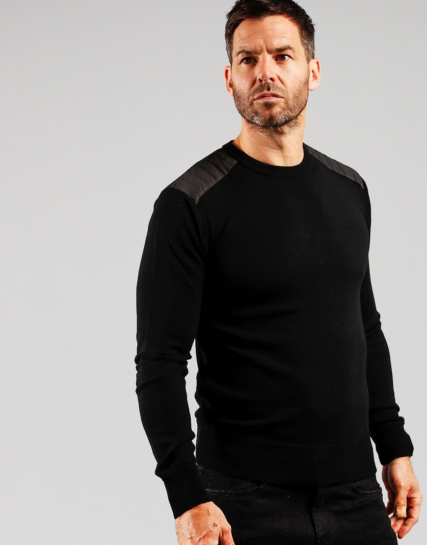 Belstaff Kerrigan Knitted Jumper Black