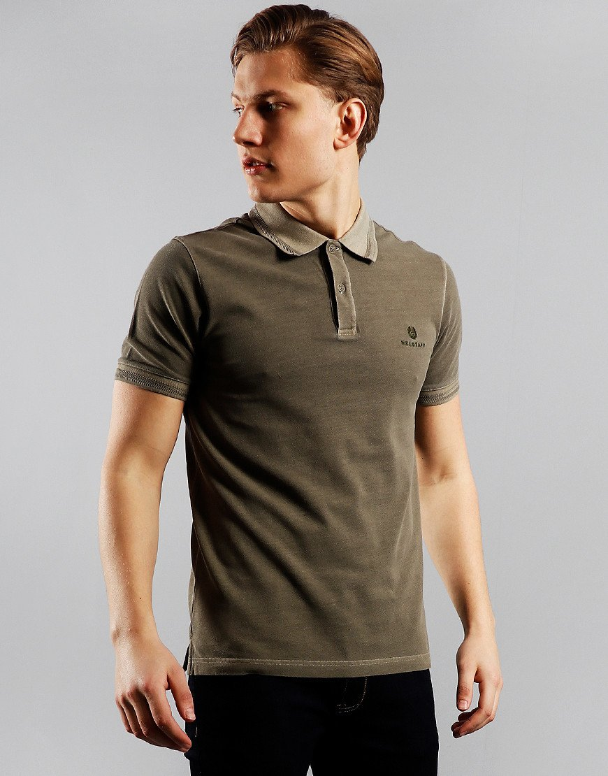 Belstaff Polo Shirt Sage Green