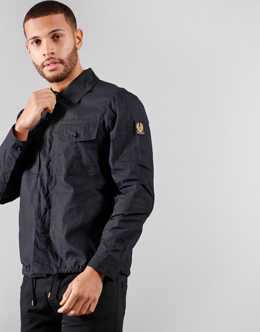 Belstaff Recon Overshirt Recon Black