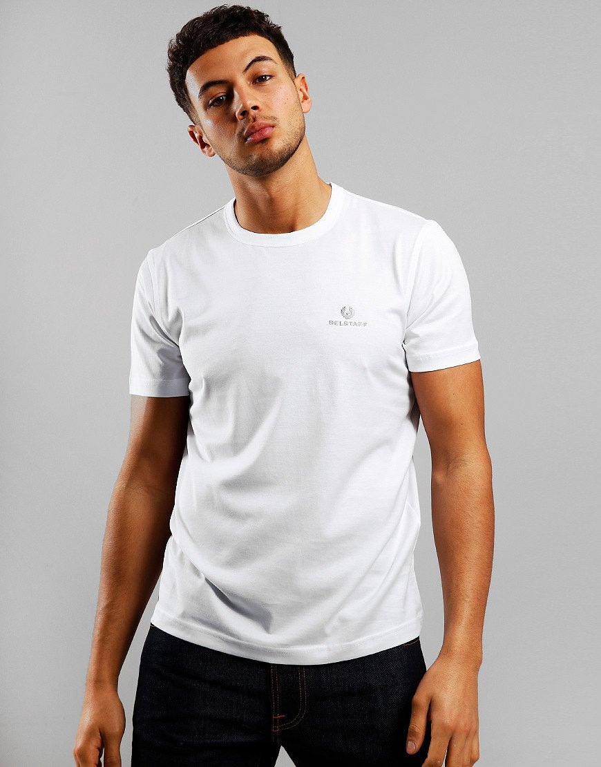 Belstaff Embroidered T-Shirt  White