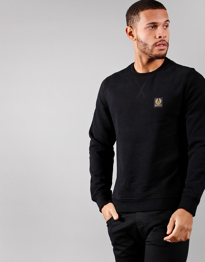 Belstaff Crew Neck Sweat Black