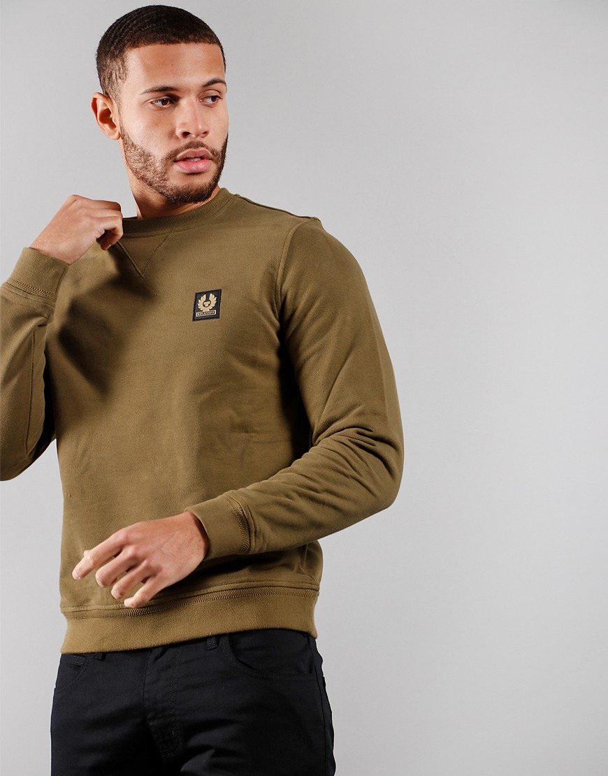 Belstaff Crew Neck Sweat Salvia
