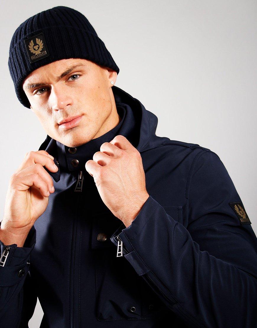 Belstaff Wool Watch Hat Dark Navy