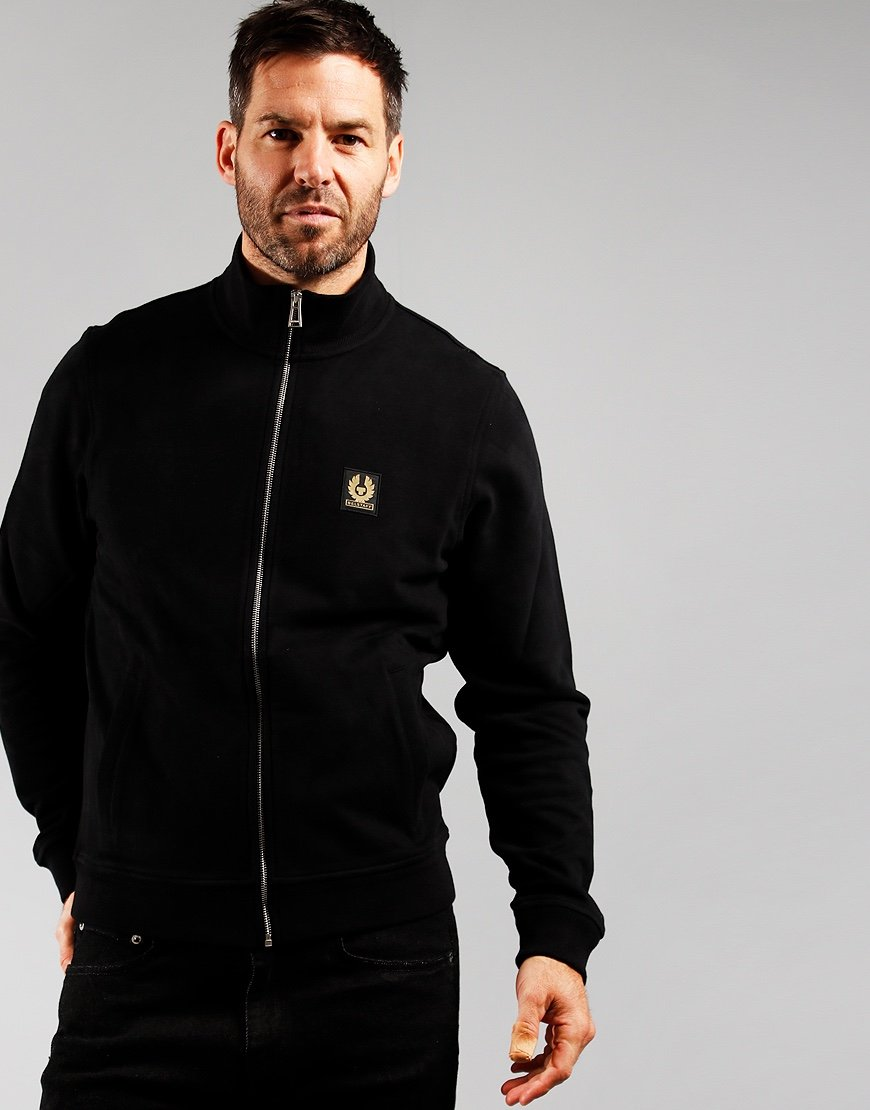 Belstaff Zip Through Sweat Black