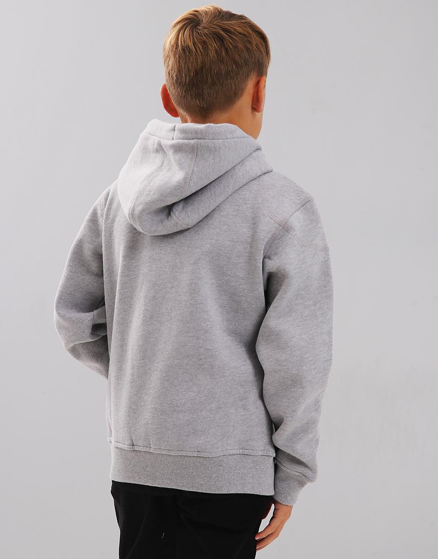 Belstaff Kids Wentworth Hooded Sweat Pale Grey