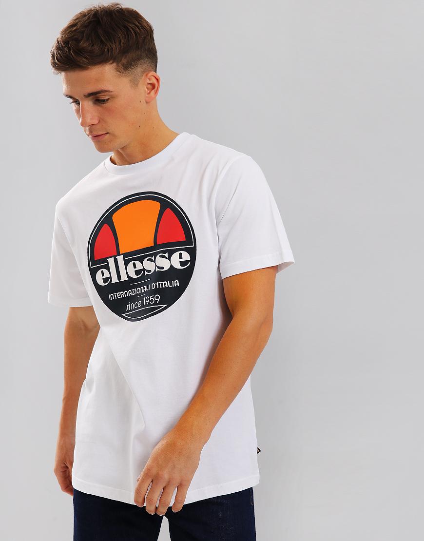 Ellesse Bergamo T-Shirt White