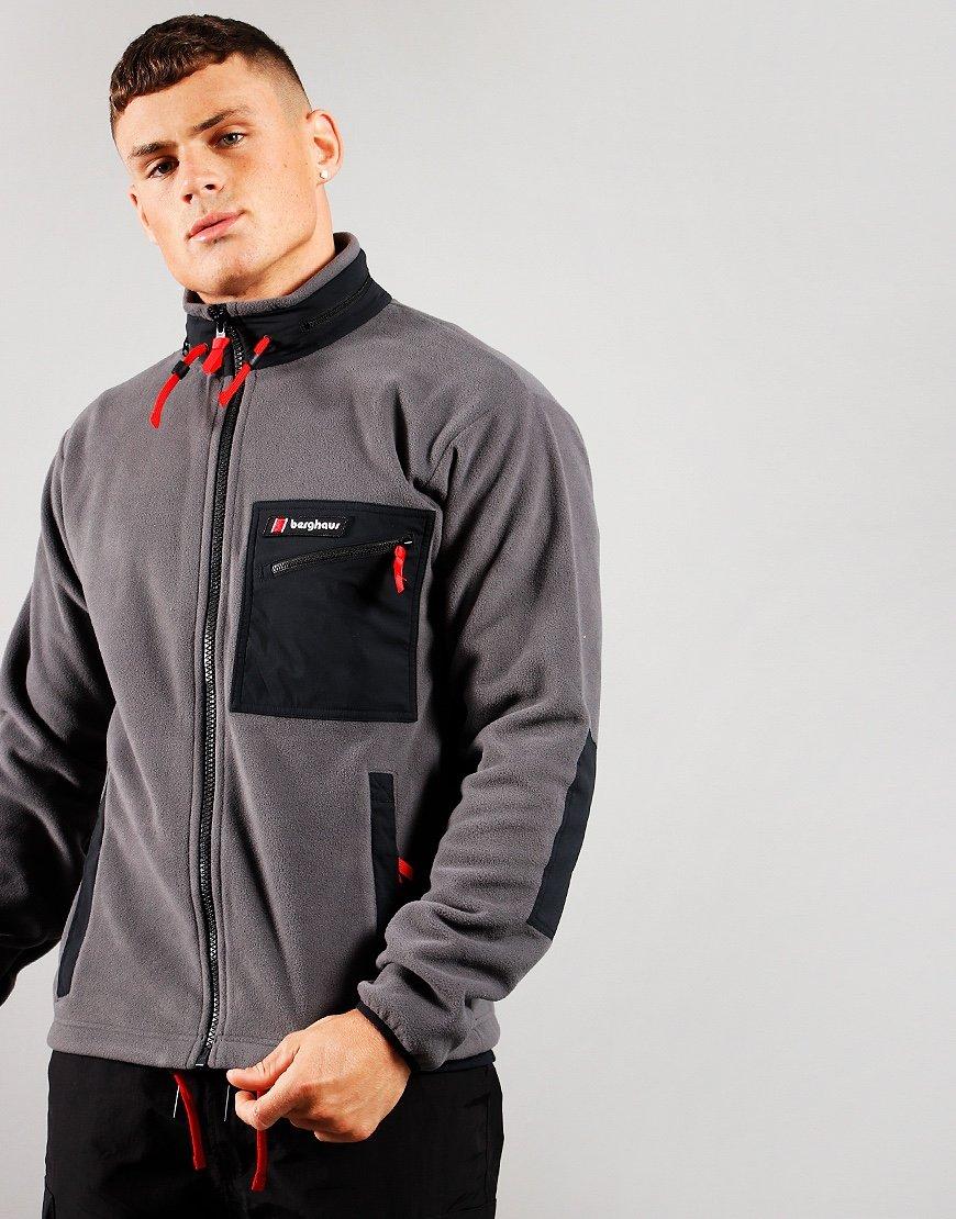 Berghaus Ascent 91 Fleece Jacket Grey/Black
