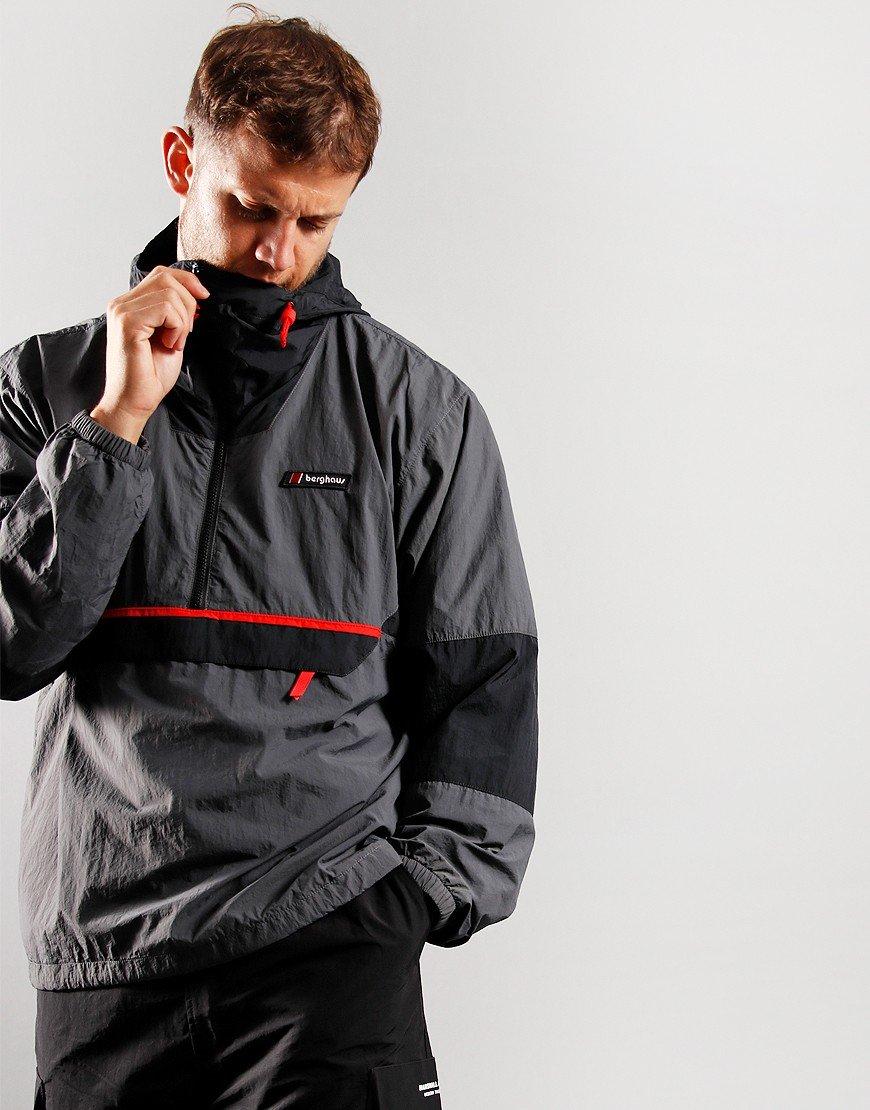 Berghaus Co-Ord Wind Jacket Grey/Black