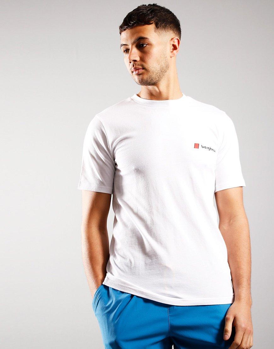 Berghaus Front & Back Logo T-Shirt Pure White
