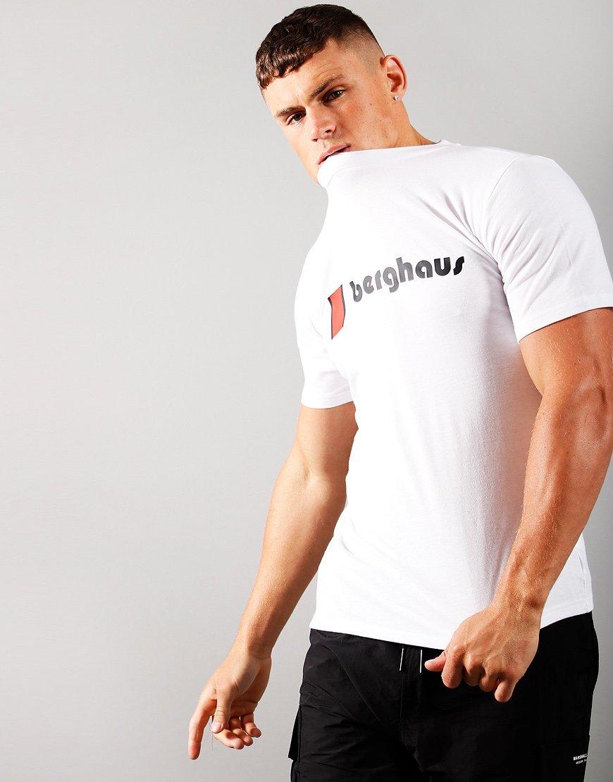 Berghaus Front Logo T-Shirt Pure White