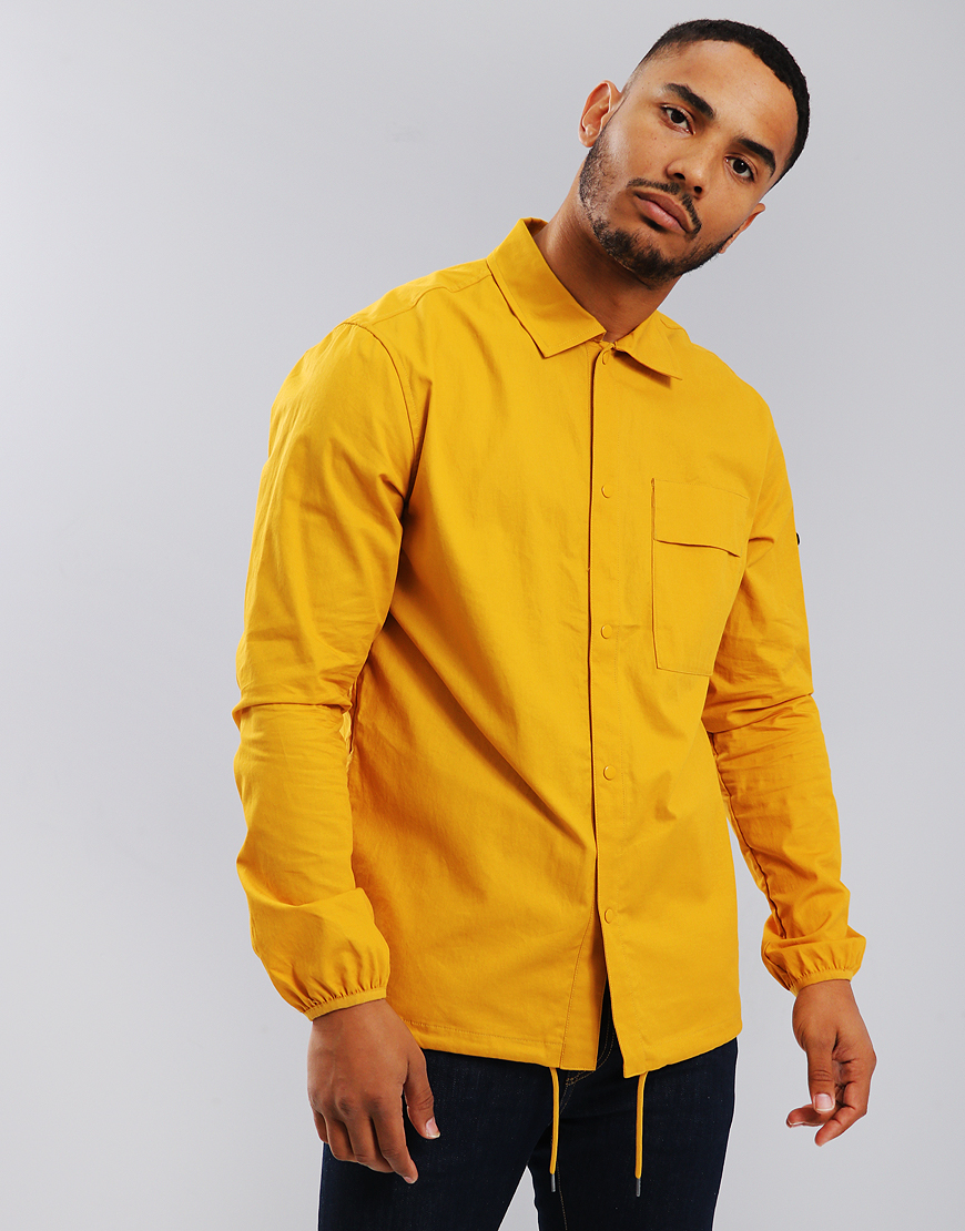 Penfield Blackstone Twill Overshirt Golden Yellow