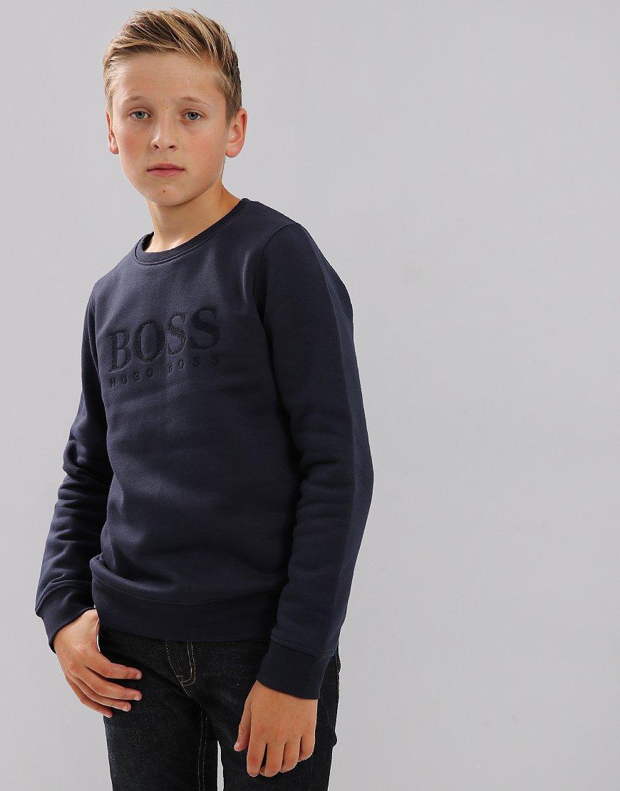 BOSS Kids J25C92 Sweatshirt Navy