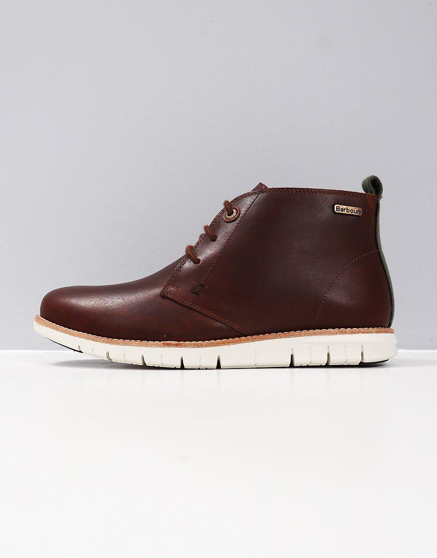 Barbour Burghley Chukka Boot Brown