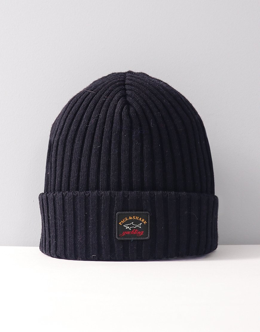 Paul & Shark Knitted Beanie Navy