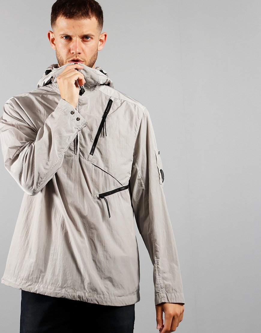 C.P. Company Hooded Overshirt Quiet Grey