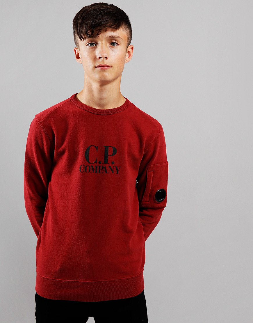 C.P. Company Kids Logo Lens Sweat Scooter