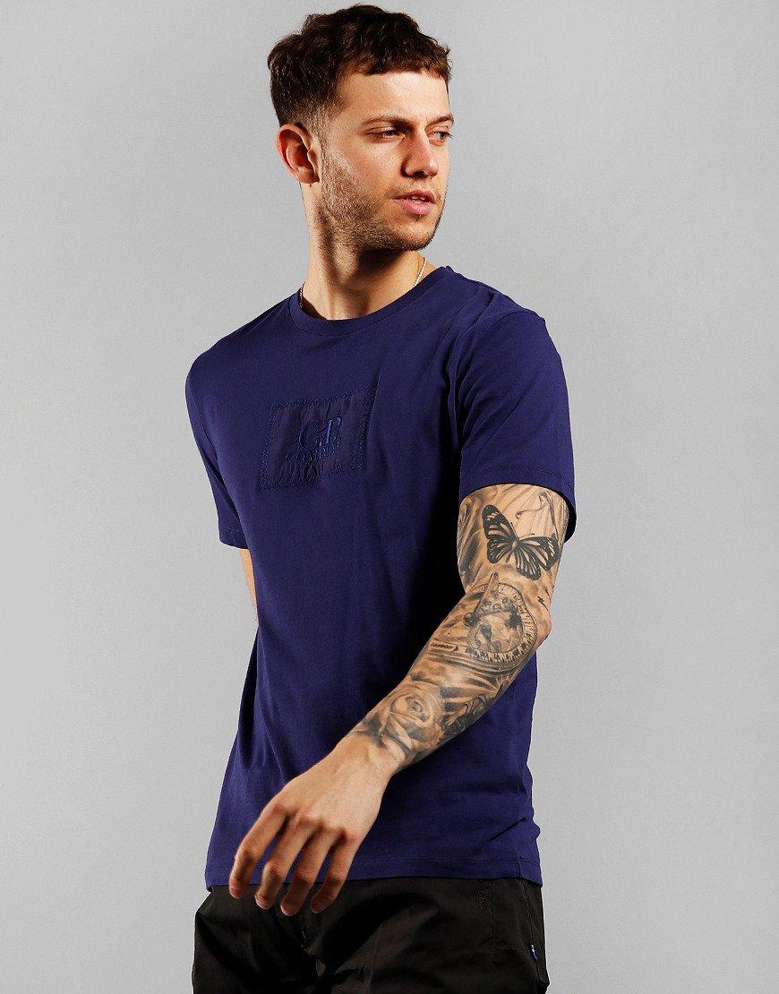 C.P. Company Label Logo T-Shirt Blueprint