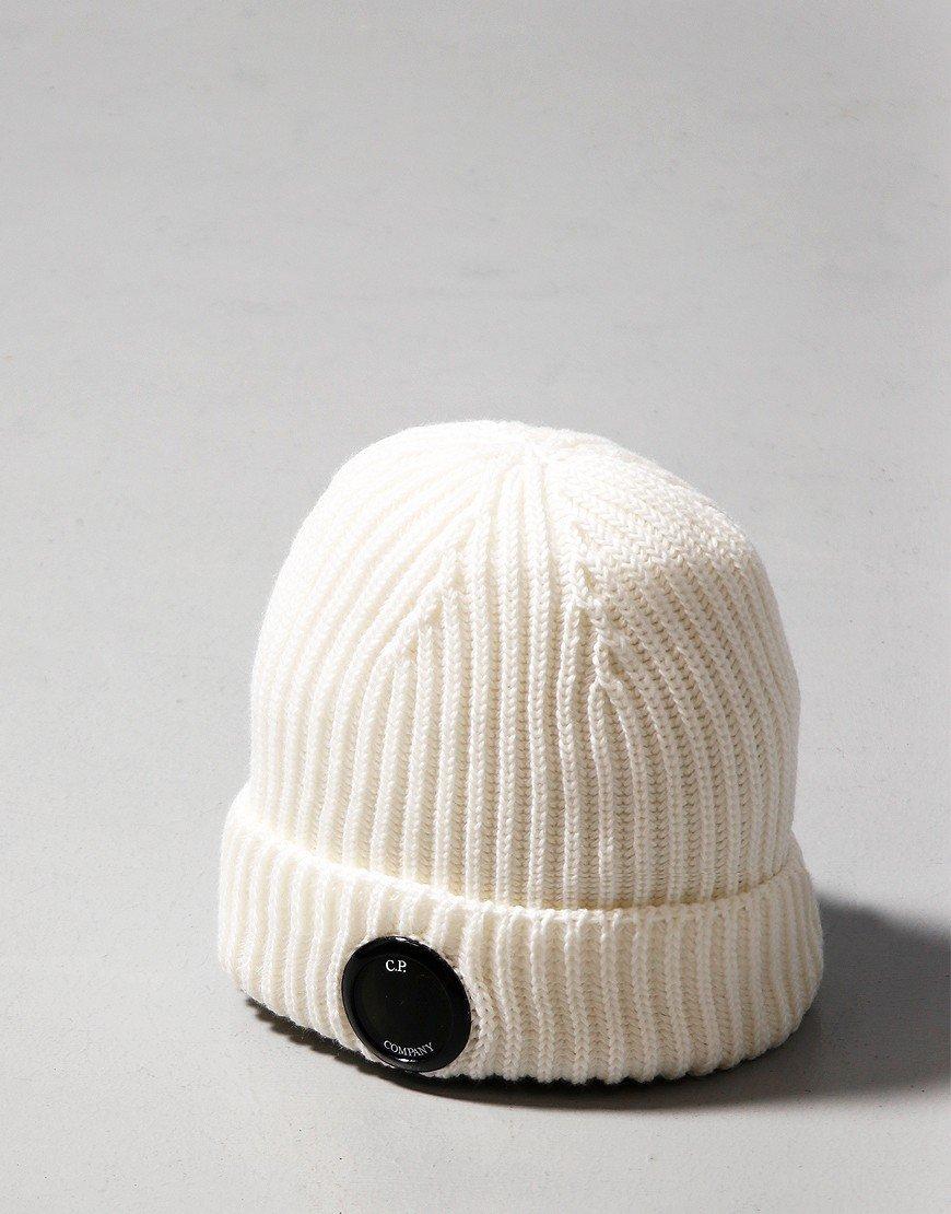 C.P. Company Lens Hat Gauze White