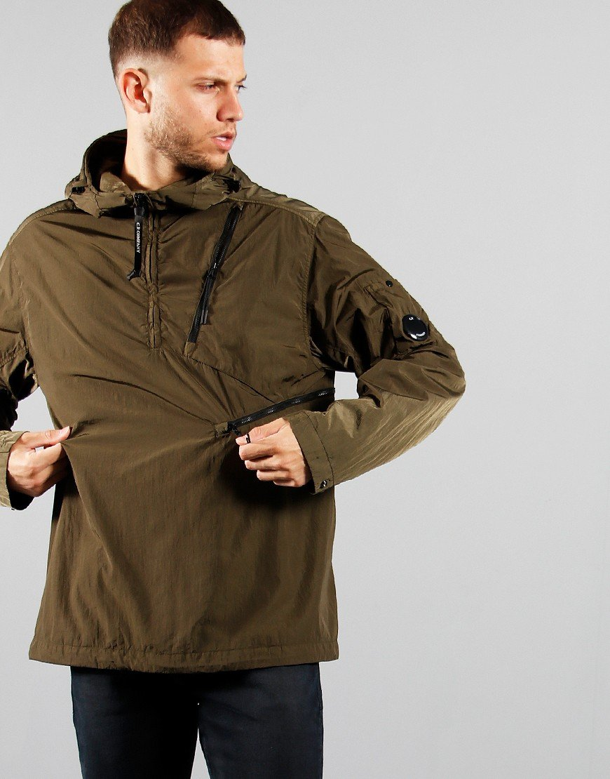 C.P. Company Hooded Overshirt Ivy Green