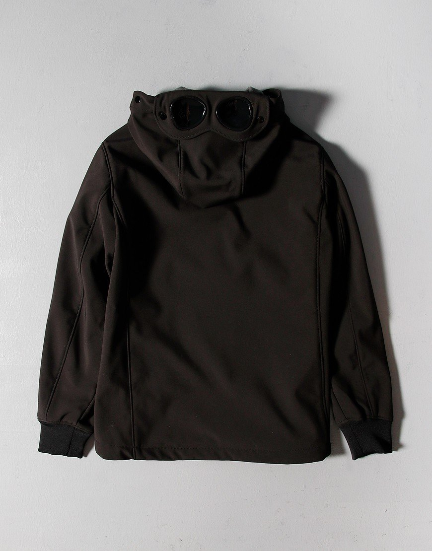 C.P. Company Kids 1/2 Zip Smock Jacket Black
