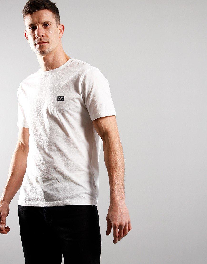 C.P. Company Small Logo T-Shirt Gauze White