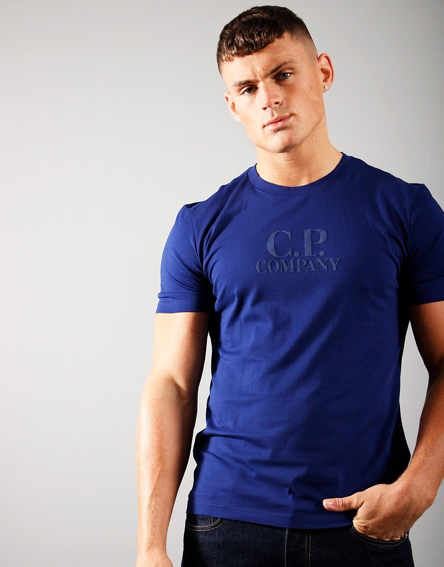 C.P. Company Classic Logo T-Shirt Blueprint