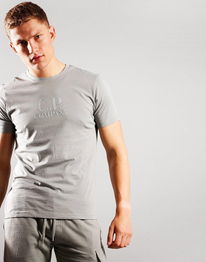 C.P. Company Classic Logo T-Shirt Moon Mist