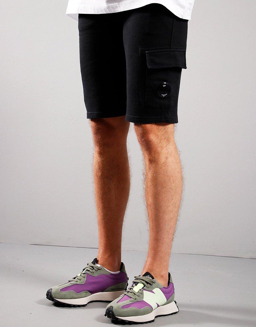 C.P. Company Kids Bermuda Sweat Shorts Black