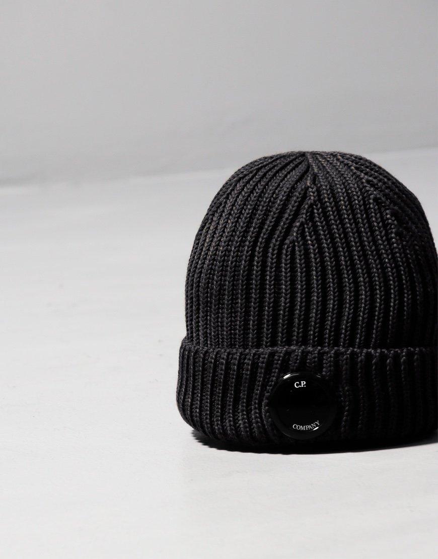 C.P. Company Lens Hat Black